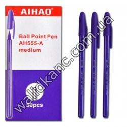 """Ручка AH-555 """"Aihao"""",фиол."""