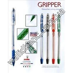 "Ручка Cello""Gripper""масл.зел."