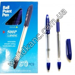 ТZ 500 P ручка масляная, син.