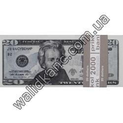 """Сувенирные деньги - """"20 $"""""""