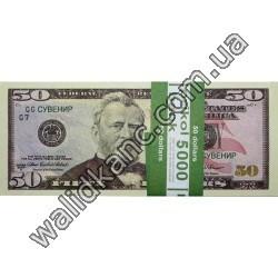 """Сувенирные деньги - """"50 $"""""""