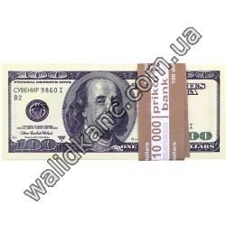 """Сувенирные деньги - """"100 $"""""""