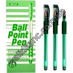 ТZ501P ручка масляная,зел.
