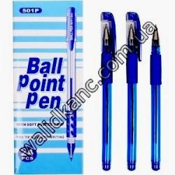 ТZ501P ручка масляная,син.