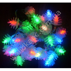 Гирлянда LED -2 фигурная