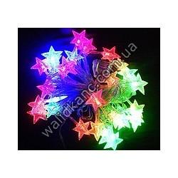 Гирлянда LED -6 фигурная (звезда)