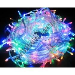 Гирлянда LED 100M - цветная
