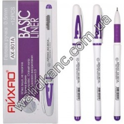 "801А""Aihao""ручка гелевая,фиол."