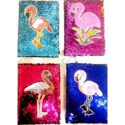 """Блокнот - паетки - """"Фламинго"""" - 21903-18"""