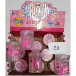 "Лизун - ""Slime Фламинго"" с игрушкой W-39"