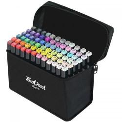Наборы для скетчинга 80 цветов сумка